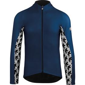 assos Mille GT Lente-/Herfst Longsleeve Jersey Heren, caleum blue